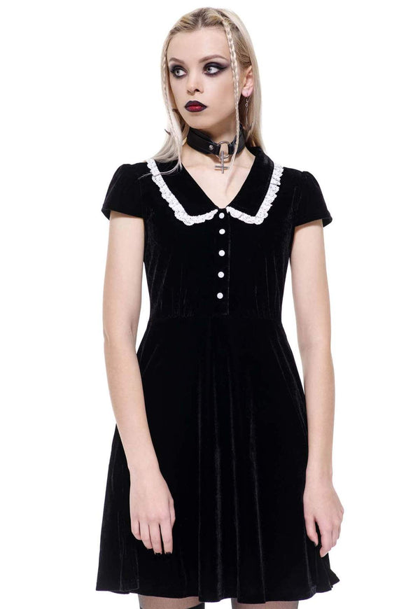 Every Mourning Collar Dress