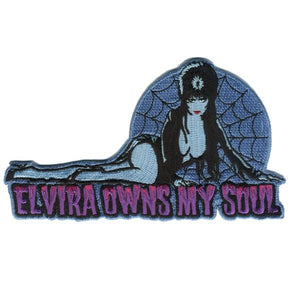Elvira Owns My Soul Patch - DeadRockers