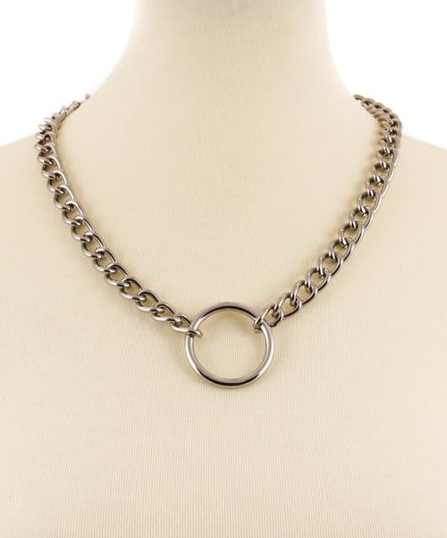 O Ring Chain Necklace