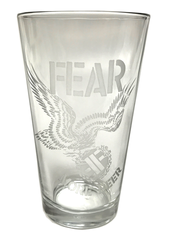 FEAR Pint Glass - DeadRockers
