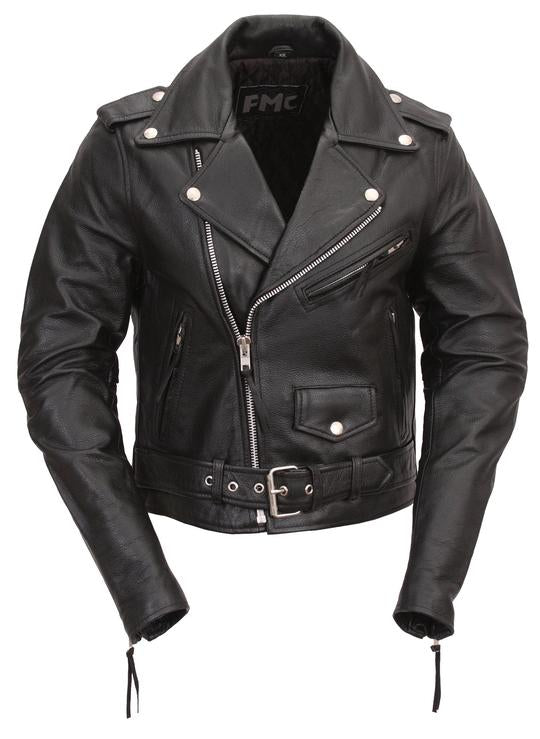 Classic Womens Leather Jacket