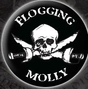 Flogging Molly Pirate Pin - DeadRockers