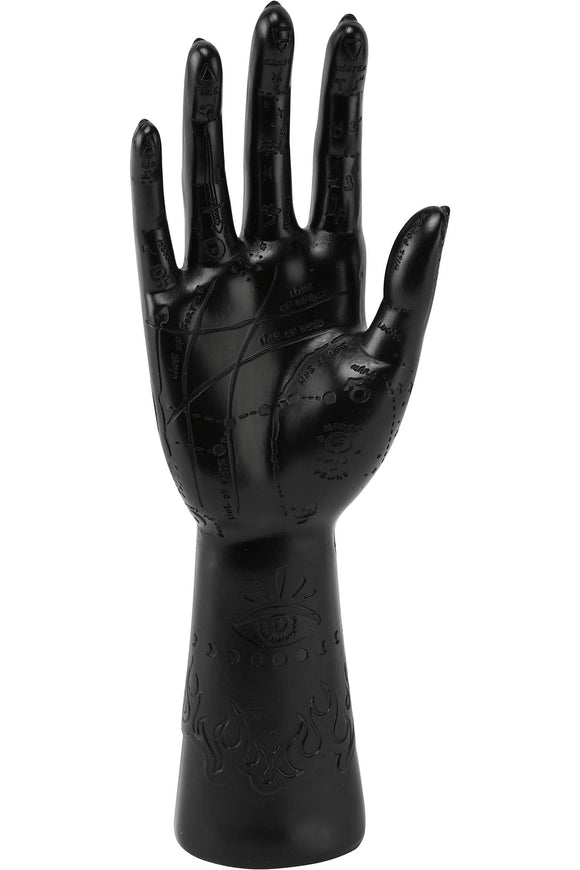 Black Fortuna Hand Ring Stand