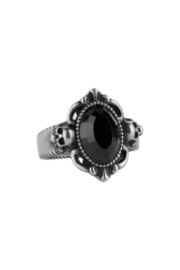 Frances Skull Gem Ring