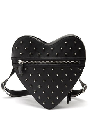 Studded Heart Backpack