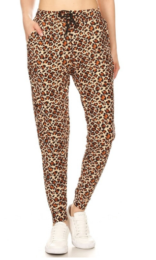 Leopard Pajama Pants (Only Medium left!)