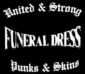 Funeral Dress 'United' Patch - DeadRockers