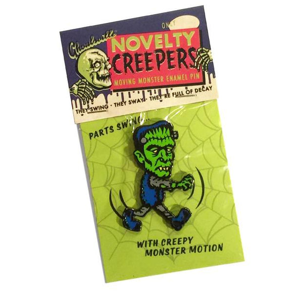 Novelty Creeper Moving Frankie Pin
