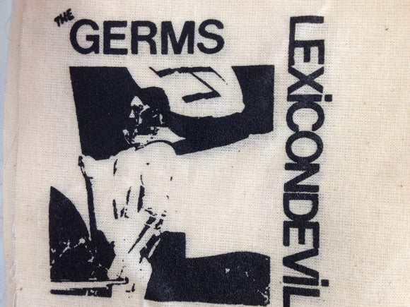 The Germs 'Lexicon Devil' Patch - DeadRockers