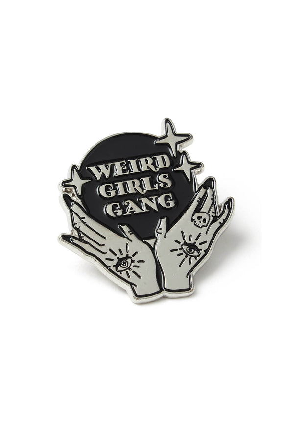 Weird Girls Gang Enamel Pin