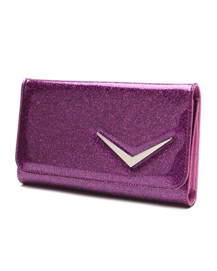 Getaway Wallet Electric Purple Sparkle
