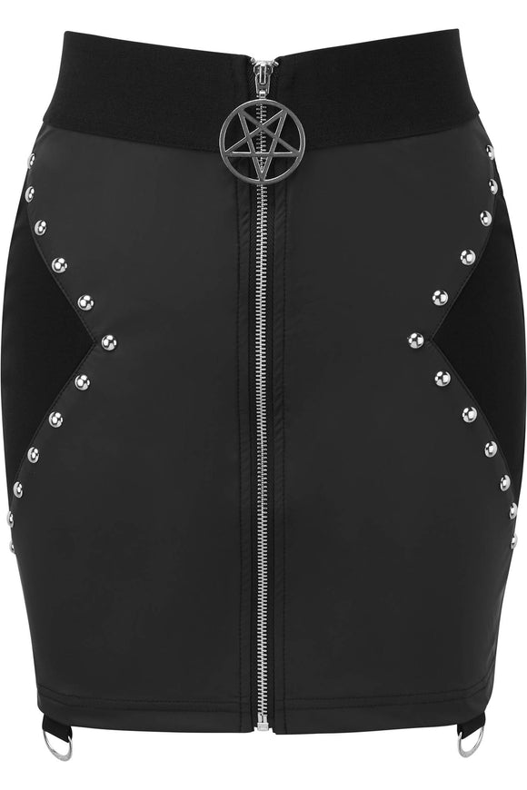 Idefy Studded Mini Skirt