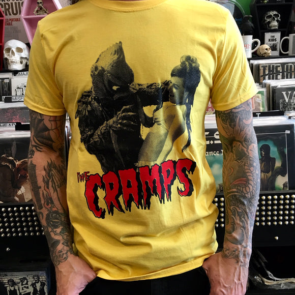 Cramps Yellow Red Creature Shirt