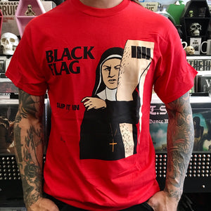 Black Flag Slip it in Shirt