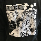 Subhumans Day the Country Died Hoodie
