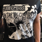Subhumans Day the Country Died Fitted Shirt