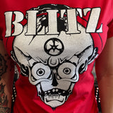 Blitz Red Fitted Shirt