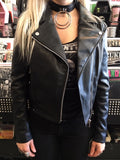 Vegan Black Leather Jacket
