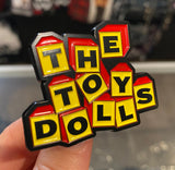 Jumbo Toy Dolls Logo Pin