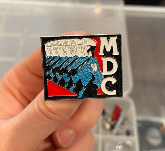 MDC Cops Enamel Pin