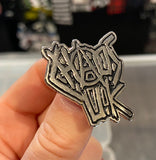Chaos UK Logo Enamel Pin