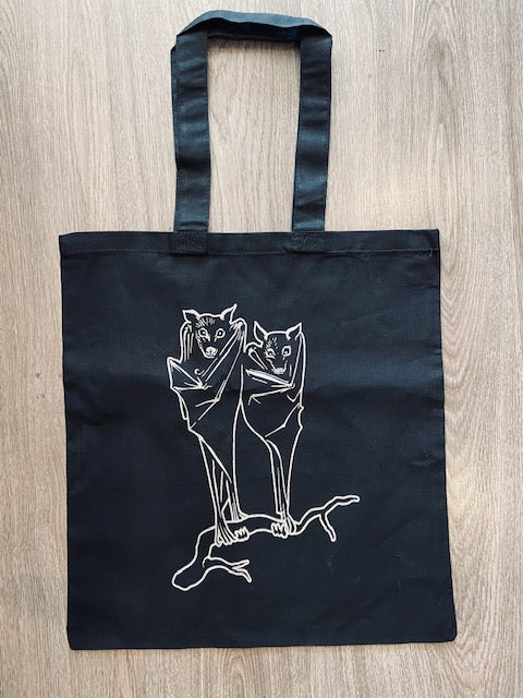 Bat Nocturnal Lovers Tote Bag
