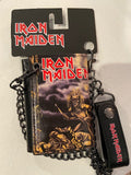 Iron Maiden Chain Wallet