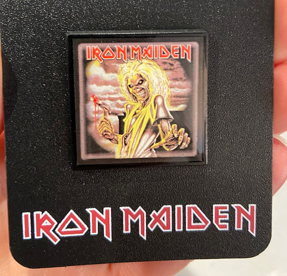 Iron Maiden Killers Enamel Pin