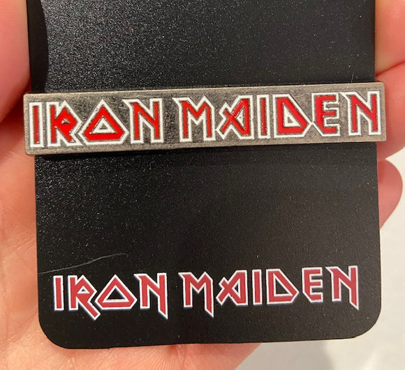 Iron Maiden Logo Enamel Pin