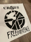 Crass Freedom & Peace Back Patch