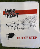 Minor Threat Out of Step Back Patch