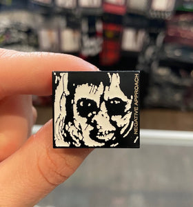 Negative Approach Enamel Pin