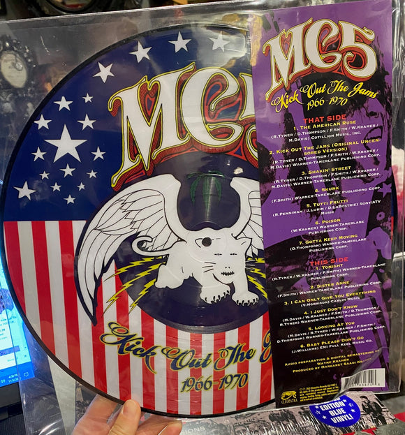 MC5 - Kick Out The Jams Picture Disc LP