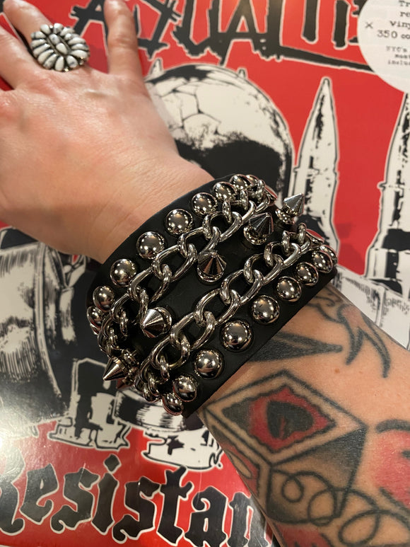 Spiked Hell Wristband