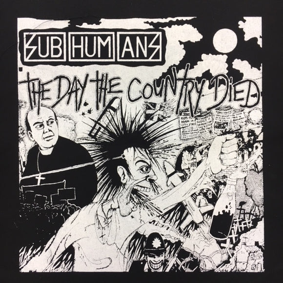 Subhumans Day the Country Died Back Patch