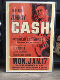 Johnny Cash Live Art Print