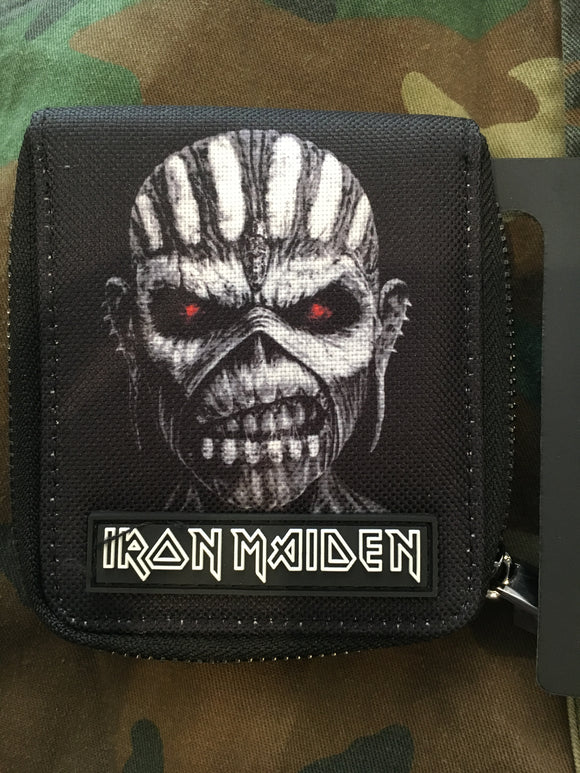Iron Maiden Canvas Zip Wallet