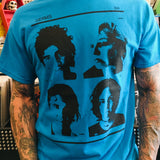 Germs Blue Profiles Shirt