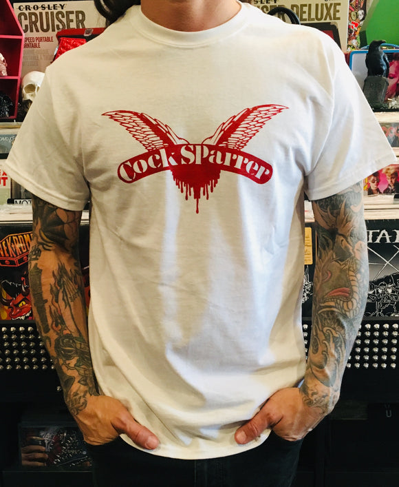 Cock Sparrer Wings Band Tee