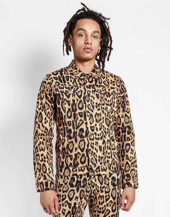 Mens Leopard Jacket