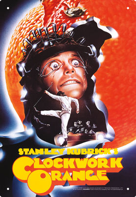 A Clockwork Orange Tin Sign