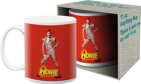 David Bowie Red Coffee Mug