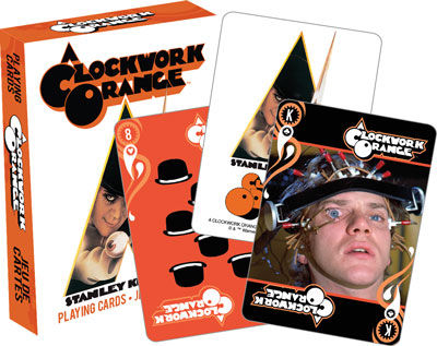 Clockwork Orange Playing Cards