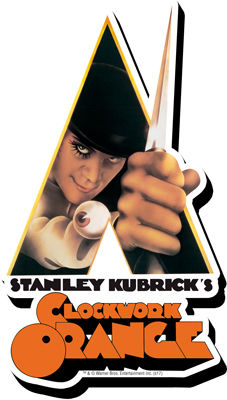 A Clockwork Orange Knife Magnet