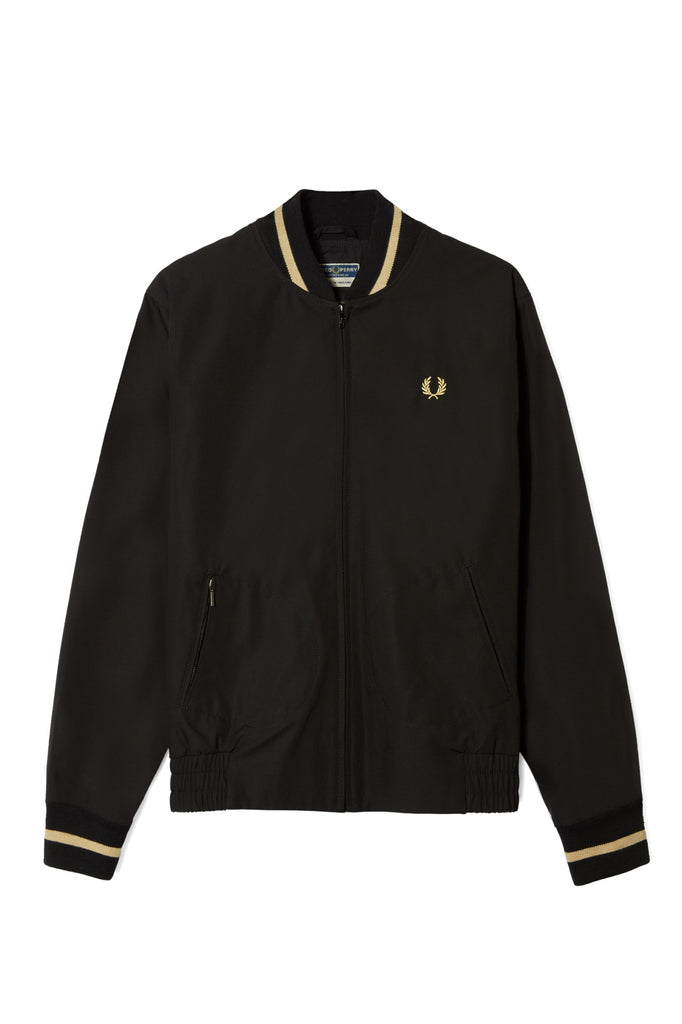 Fred Perry Tennis Bomber Made in England - Black