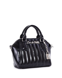 Mini Carnival Tote Metallic Black
