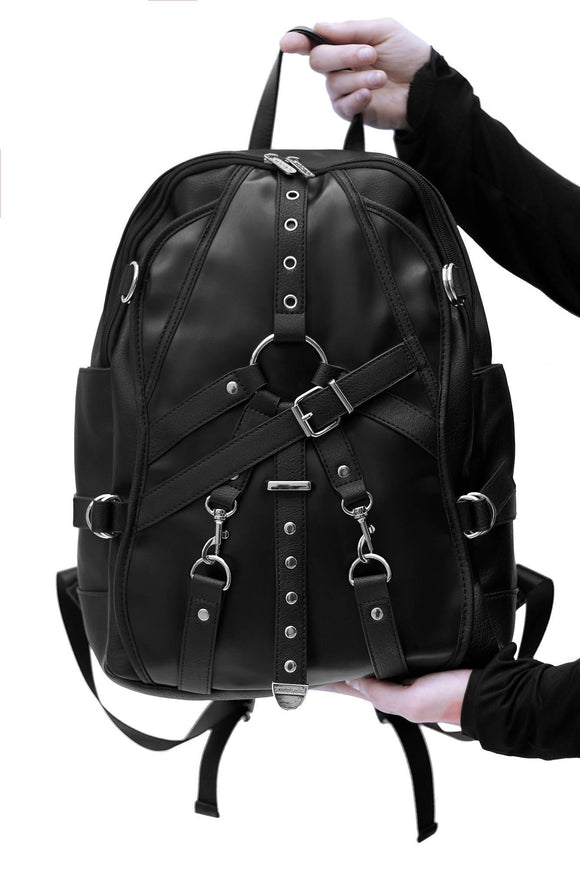 Kane Bondage Strap Backpack