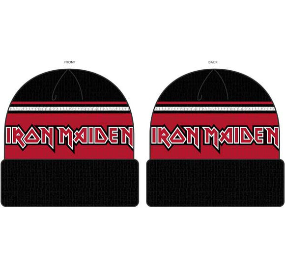 Iron Maiden Knit Beanie