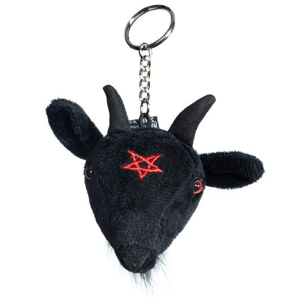 Baphomet Key Chain
