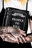 Kill List Book Handbag - DeadRockers